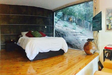Hermoso loft en el bosque zona muy bonita - San Cristóbal de las Casas - Loteng