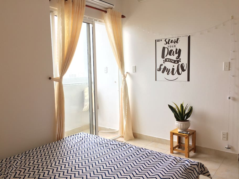 Inside the bedroom ... fresh breeze & peace will fill your soul up