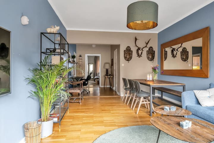 Spacious apartment in central Uppsala
