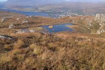 Am Falachan - Lochside roundhouse, stunning views.