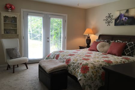 King Bedroom, Quiet Home near NASA - Houston - Rumah