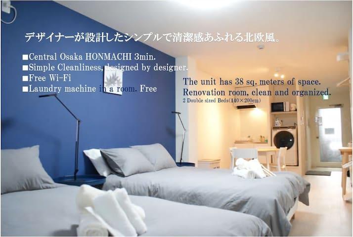 ★CBD place【HOMMACHI】sta.~3min.★Convenient place♪