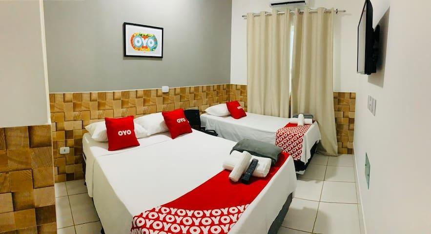 Hotel! Suite espetacular 108 COM CAFÉ DA MANHÃ