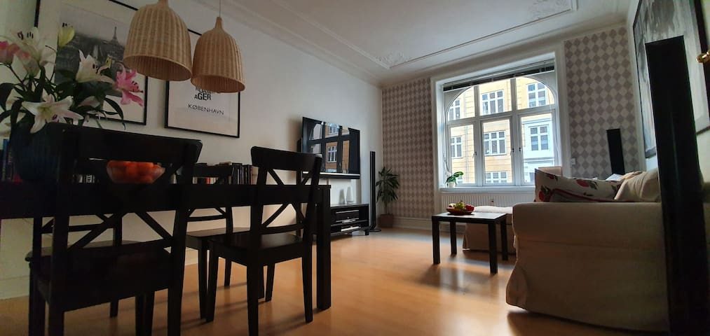 Charming 2-bedroom - Vesterbro close to citycenter