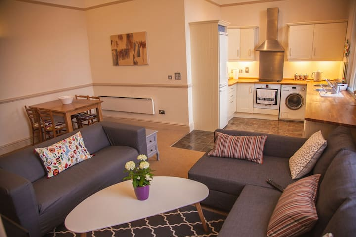 Stunning Luxury Georgian 2bd/2bth in city centre - Liverpool - Apartament
