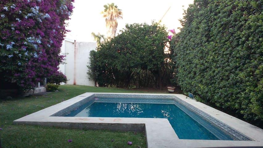 Habitación privada Lomas de Cocoyoc - Lomas de Cocoyoc - Rumah