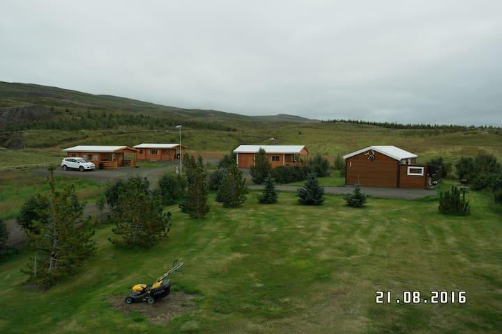 Cottage with beautiful surrondings2 - Egilsstaðir - Blockhütte