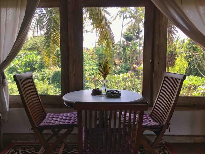 Ubud Apartment - The Hibiscus Room