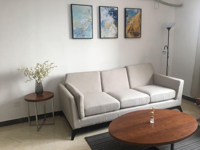 靠近机场,国际会展中心,国际学校以空港的全新温馨两居室! - Peking - Wohnung
