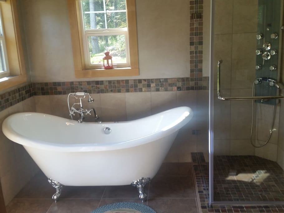 Glacier Lily tub and shower