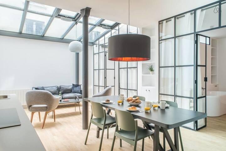 Design Loft near Montmartre