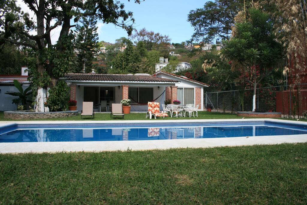 Quinta los tamarindos yautepec houses for rent in for Villas jazmin 2 yautepec