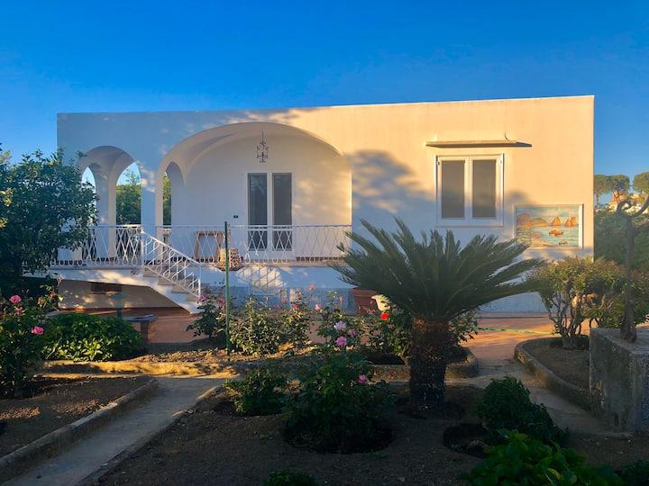 Villa Catenacci:tipica Villa nel cuore di Anacapri