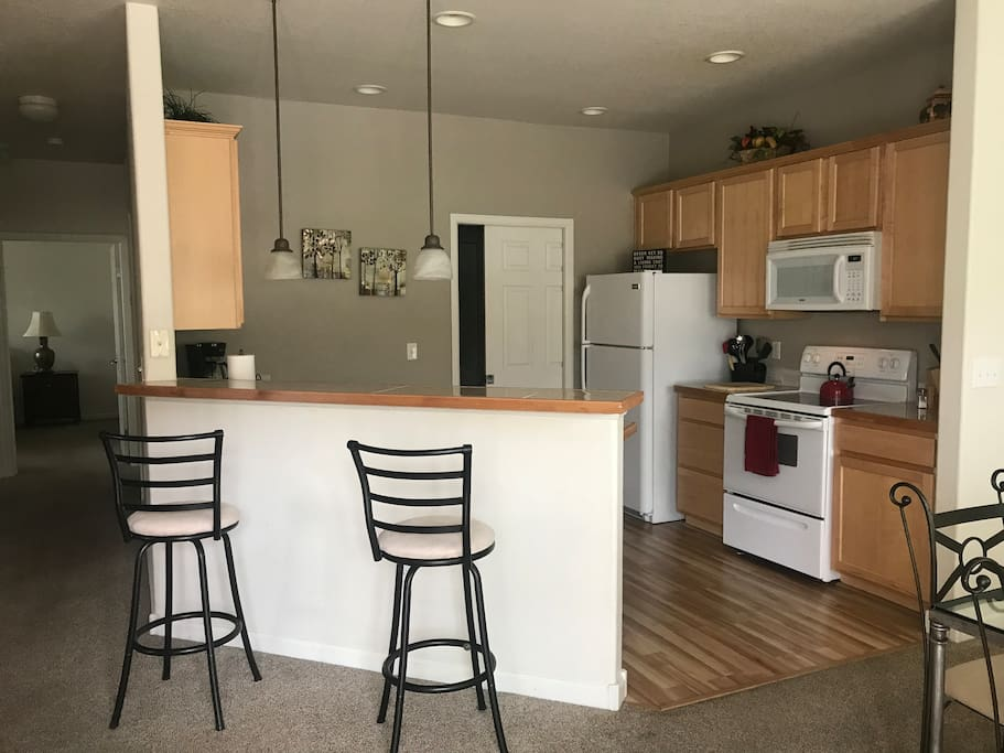 Kitchen with Laundry Room Adjacent