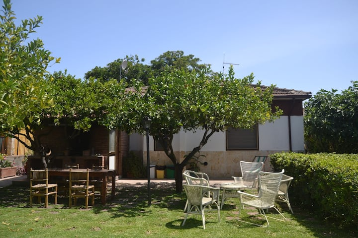 Detached house, 100m from the sea with garden and terrace. Best Belvilla 2016!
