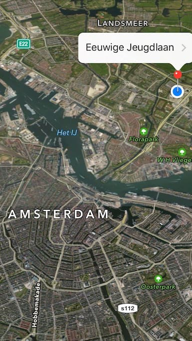 Amsterdam North, the sunny side of town.