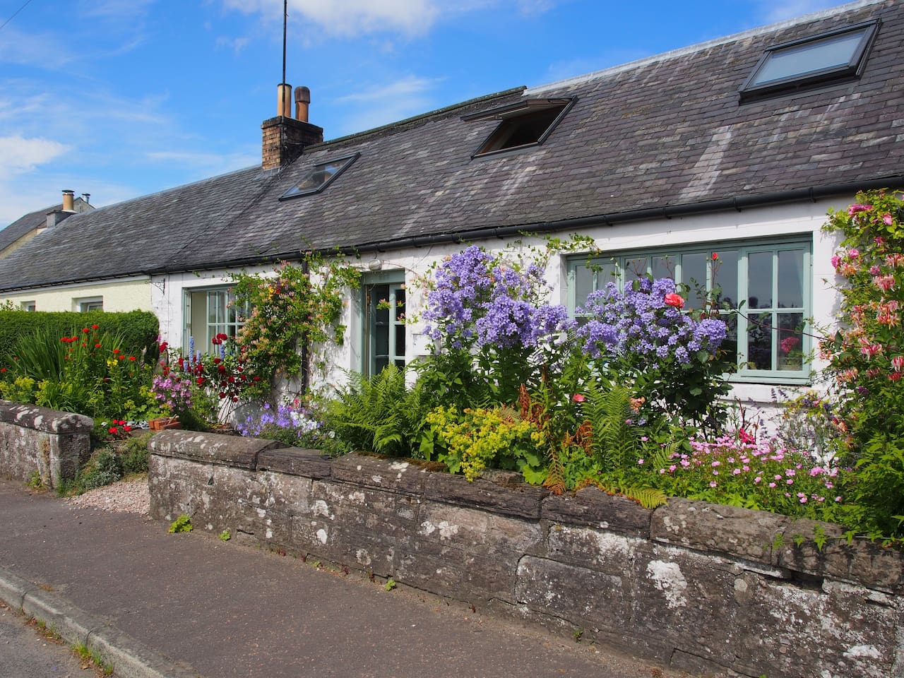 Ardene- Front of the Cottage