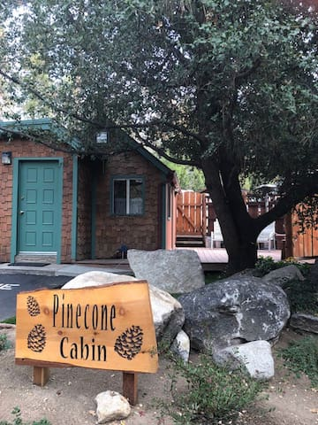 Pinecone cabin in Idyllwild