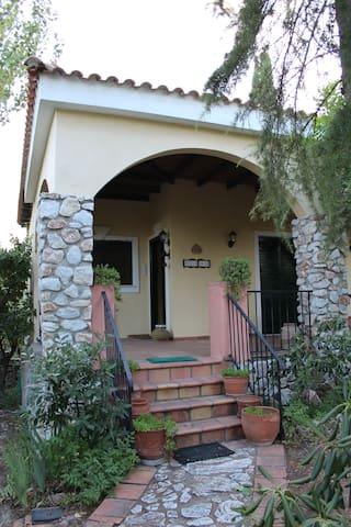 """Bella Casa"" Cottage multicolor house"