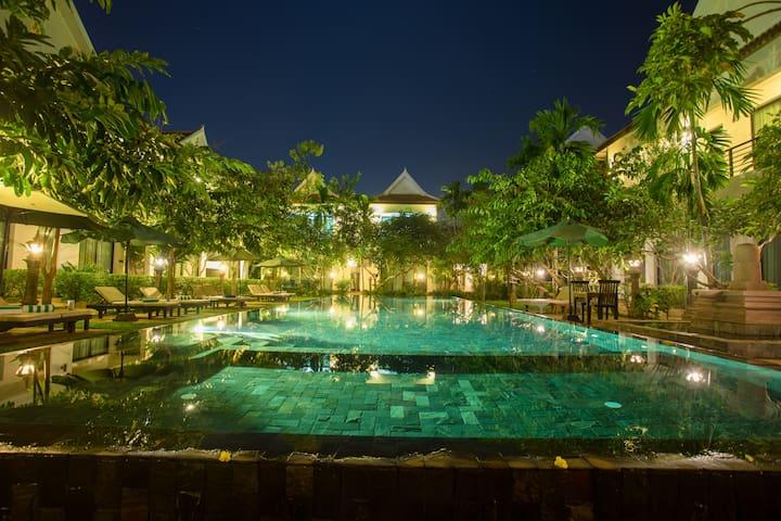 Angkor Wat-Private 1Bedroom/1 people+Pick UP+No BF