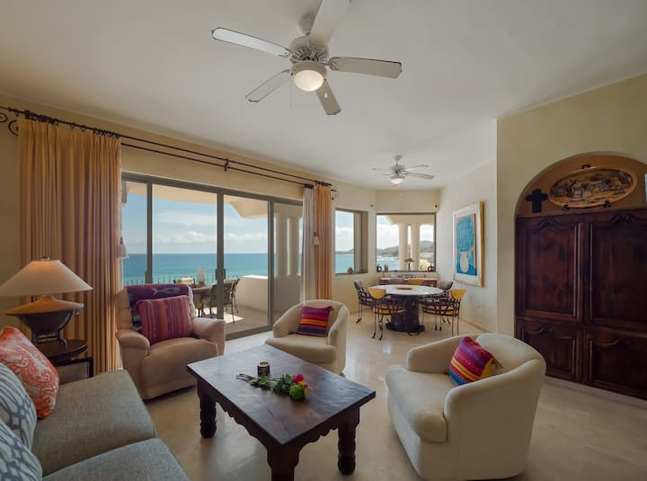 "Exclusive clean, Cabo Beach view condo 503 ""C"""