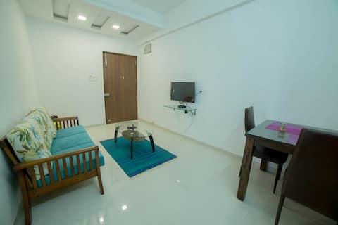 Cozy 1BHK Apartment in Varsoli, Alibaug Unit 8
