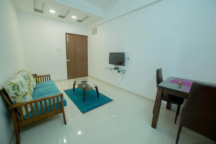 Cozy 1BHK Apartment in Varsoli, Alibaug Unit 8