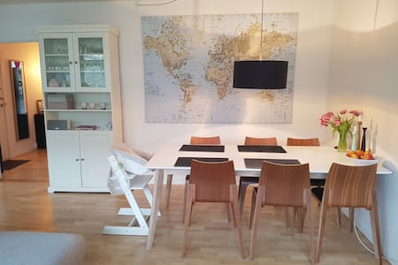 Big and cozy apt. with central location - Frederiksberg - Appartamento