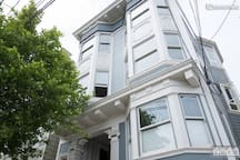 Castro Victorian with City View - Business Ready