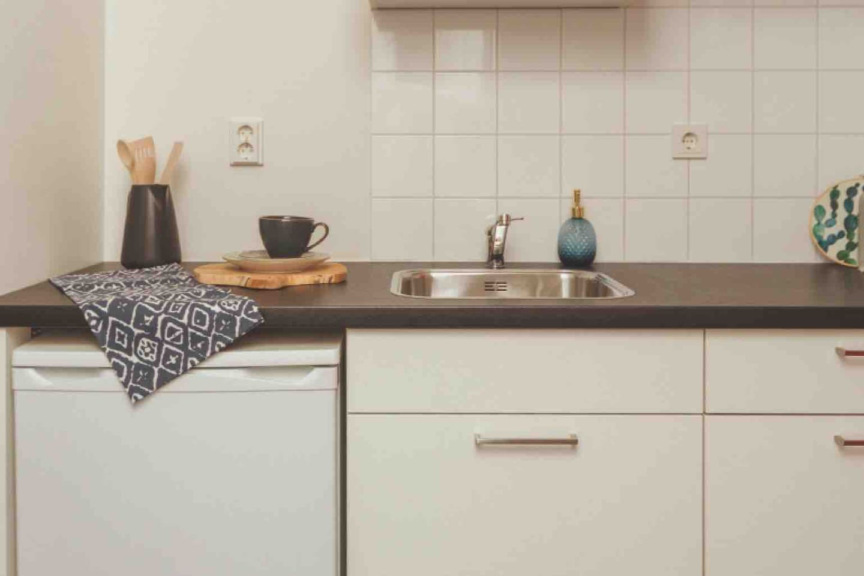 Private Kitchen inside bedroom