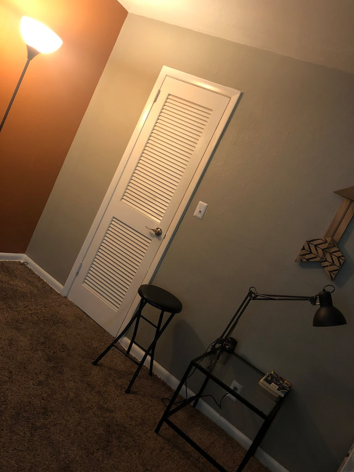 Small cozy studio apartment