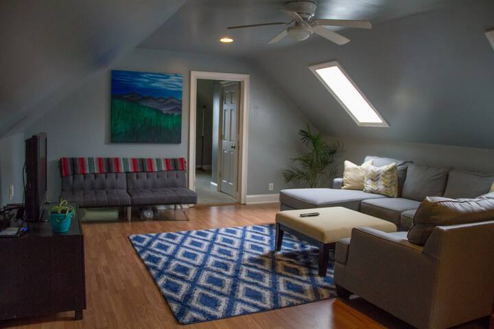 Shared upstairs living room
