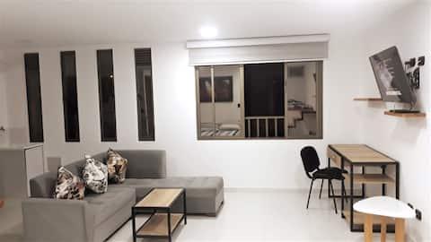 Moderno estudio en Villamaria cerca cable aereo