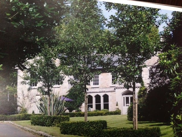 Queens: Beautiful Apartment in a Cornish Mansion - Cornwall - Leilighet