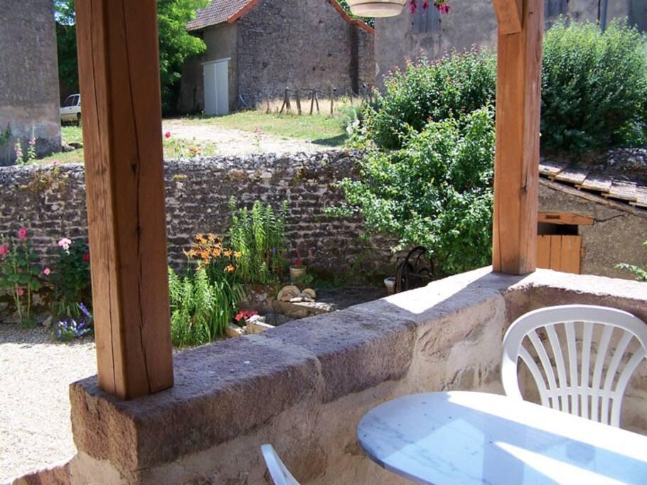 petite terrasse typique