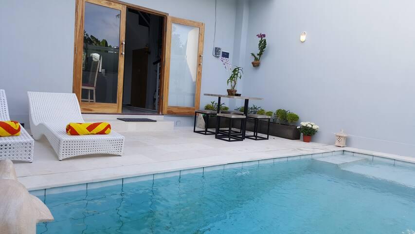 Bodat Town House Villa,2 Bed Private Pool,Seminyak