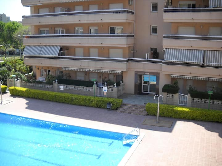 Apartments with pool and very close to the beach. Ref.ses illes-24