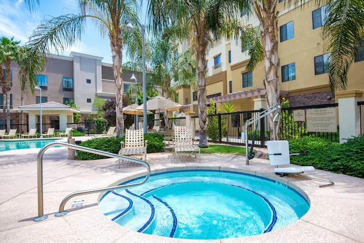 Modern Phoenix Suite + Walk to Gila River Arena | Heated Outdoor Pool