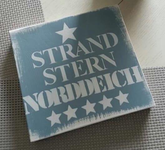 Ferienwohnung Strandstern Norddeich WLAN/PARKPLATZ - Norddeich-Norden - Pis