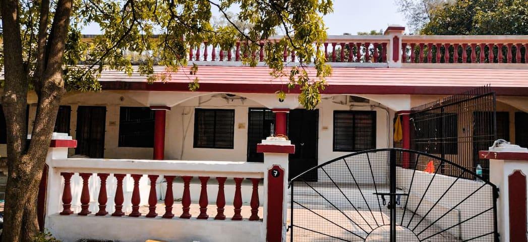Villa 7 - private bunglow.