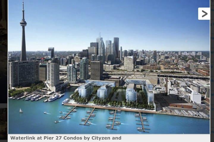 Waterfront NY Loft Style Condo - Toronto - Apartment