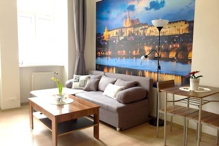 Cozy studio 15 min CHARLES BRIDGE by walk - Praha