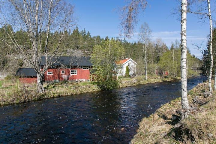 Reshjemgård Bø, gårdsutleie med låve og bryggerhus - Bø - Rumah