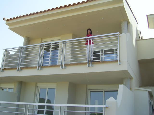 Apartamento 1ª fila de campo de golf Panorámica - Sant Jordi - Leilighet