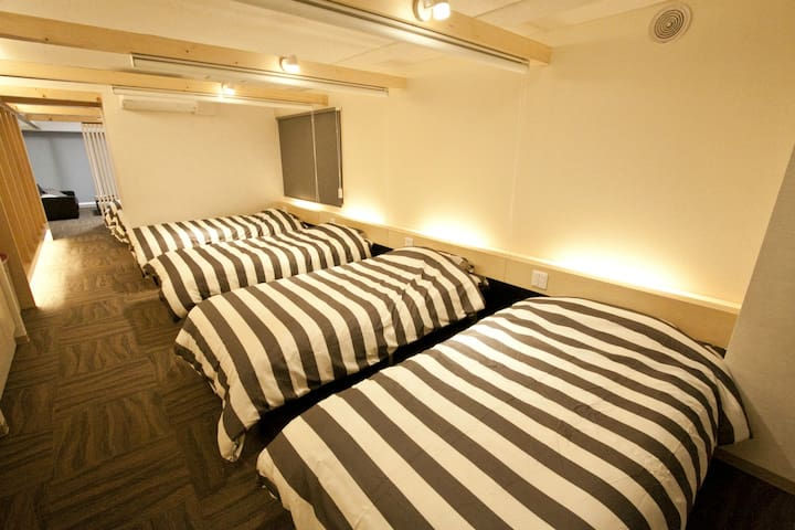 140m to station/Spacious room!/10ppl/FreeWifi
