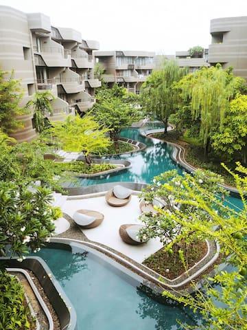 Baan San Ngam Huahin Cozy room with Pool view - cha-am - Apartment