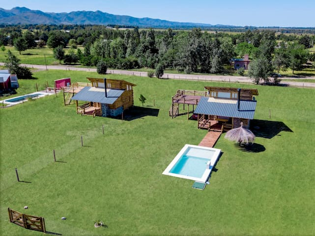Cabaña Lago Los Molinos - Córdoba