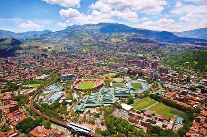 The best location. Beautiful apartment. - Medellín - Byt