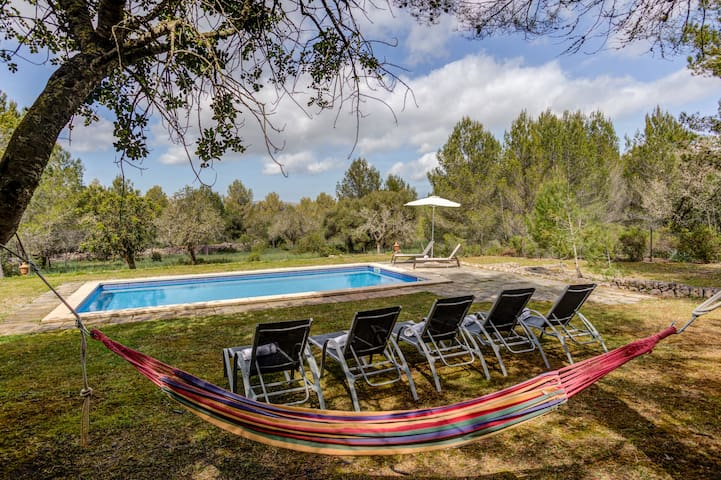 Private & Rural Villa Tord in Mallorca with pool. Up to 6 guests!