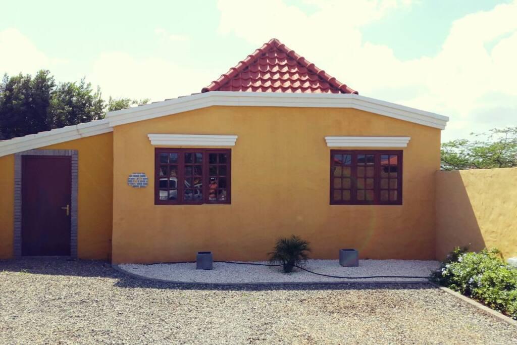 Traditional Cunucu house.